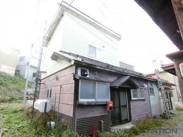 小樽築港2DK一戸建貸家外観