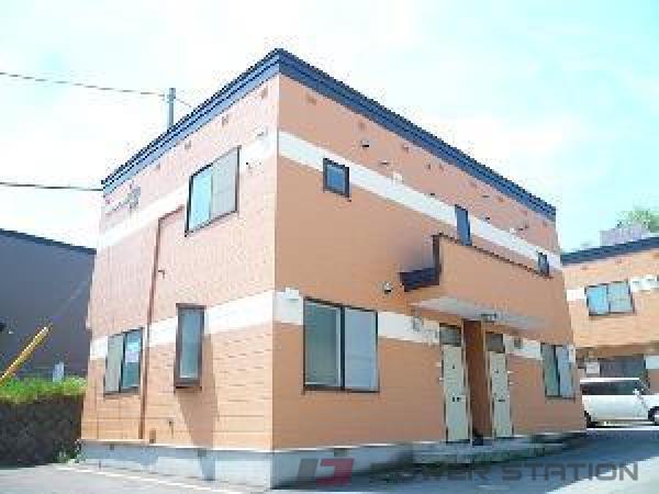 小樽市梅ヶ枝町0賃貸アパート外観写真