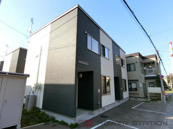 小樽市潮見台2丁目1テラスハウス外観写真