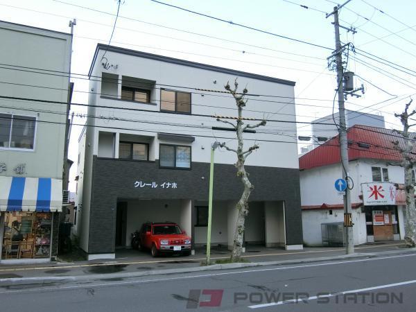 小樽市稲穂4丁目0賃貸アパート外観写真