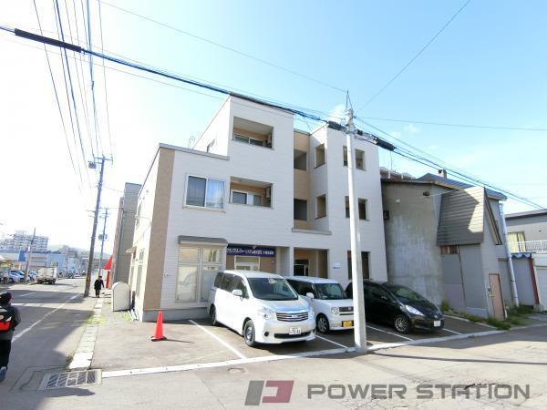 小樽市新富町0賃貸アパート外観写真