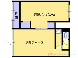 小樽市奥沢2丁目0テナントビル間取図面
