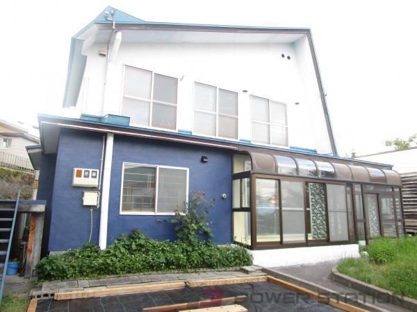 小樽市富岡2丁目1一戸建貸家外観写真