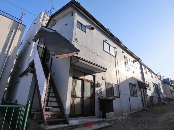 小樽市花園2丁目0賃貸アパート外観写真