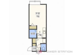 札幌市中央区北18条西15丁目0賃貸マンション間取図面