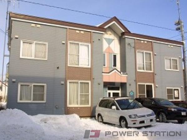 札幌市中央区北18条西15丁目1賃貸アパート外観写真