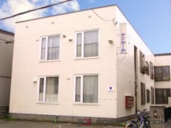 札幌市中央区北16条西15丁目1賃貸アパート外観写真