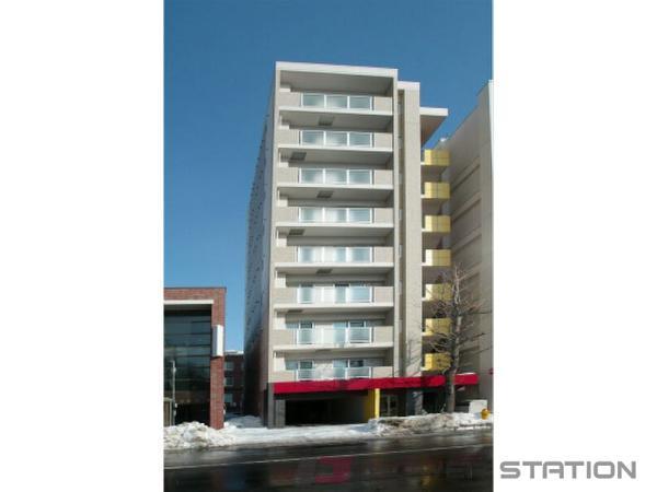 札幌市中央区南3条西13丁目0賃貸マンション外観写真