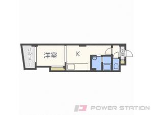 札幌市中央区北12条西15丁目0賃貸マンション間取図面