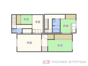 札幌市中央区大通西16丁目0賃貸アパート間取図面