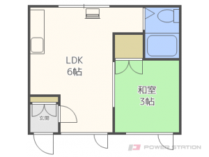 二十四軒1DKアパート図面