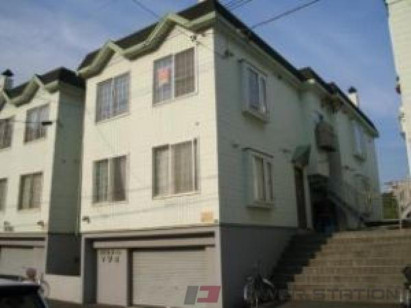 札幌市中央区北9条西24丁目0賃貸アパート外観写真