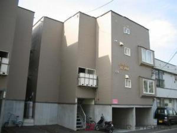 札幌市中央区北8条西26丁目0賃貸アパート外観写真