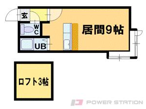 二十四軒1Kアパート図面