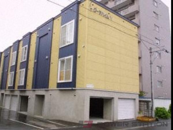 札幌市中央区北9条西23丁目0賃貸アパート外観写真
