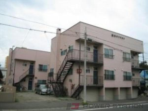 札幌市中央区北9条西21丁目0賃貸アパート外観写真