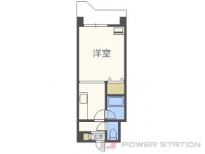 札幌市中央区北8条西23丁目0賃貸マンション間取図面