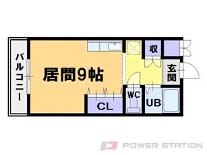 札幌市中央区北8条西18丁目1分譲リースマンション間取図面