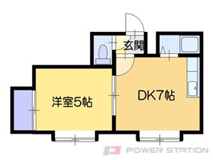 札幌市中央区北2条東13丁目0賃貸マンション間取図面