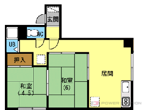 札幌市中央区宮の森3条5丁目0賃貸アパート間取図面