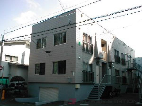 札幌市中央区宮の森2条4丁目0賃貸アパート外観写真