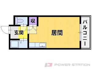 札幌市中央区宮の森2条4丁目0賃貸マンション間取図面