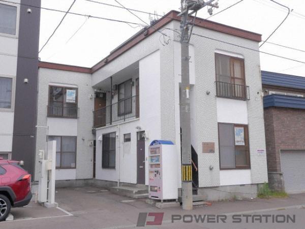 札幌市中央区宮の森2条1丁目0賃貸アパート外観写真