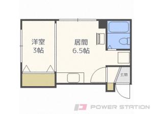 札幌市中央区宮の森2条1丁目0賃貸アパート間取図面