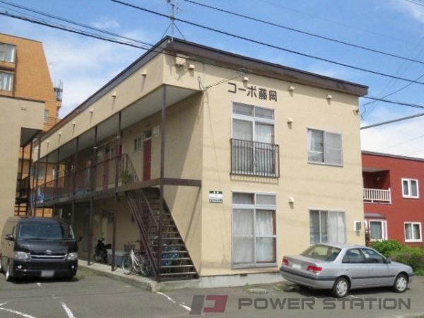 札幌市中央区宮の森2条2丁目0賃貸アパート外観写真