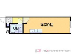 札幌市中央区宮の森2条3丁目0賃貸マンション間取図面