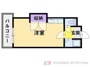 札幌市中央区宮の森1条4丁目0賃貸マンション間取図面