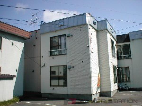 札幌市中央区北8条西25丁目0賃貸アパート外観写真