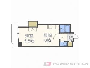 札幌市中央区北6条西26丁目0賃貸マンション間取図面