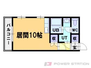 札幌市中央区北5条西25丁目0賃貸マンション間取図面