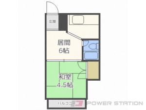 札幌市中央区北5条西21丁目0賃貸マンション間取図面