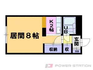 札幌市中央区北4条西21丁目0賃貸マンション間取図面