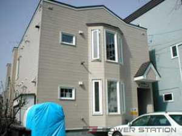 札幌市中央区北6条西19丁目0賃貸アパート外観写真