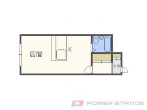 札幌市中央区北5条西20丁目0賃貸マンション間取図面
