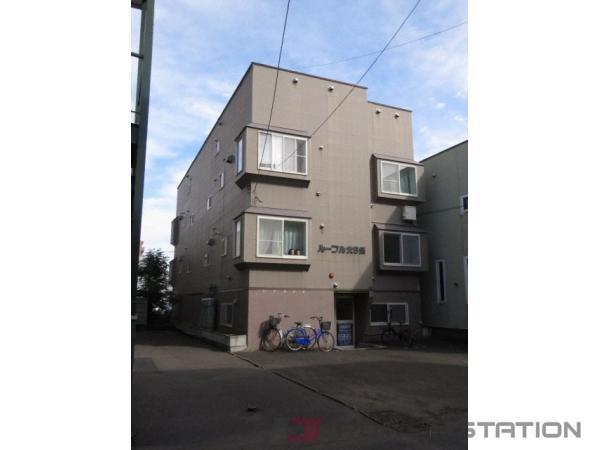札幌市中央区北5条西20丁目1賃貸アパート外観写真