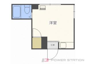 札幌市中央区北5条西17丁目1賃貸マンション間取図面