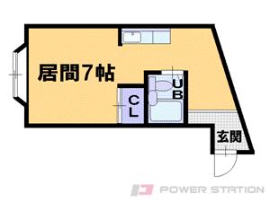 札幌市中央区北6条西13丁目0賃貸マンション間取図面