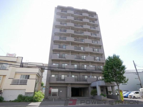 札幌市中央区北6条西13丁目0賃貸マンション外観写真
