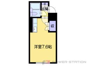 札幌市中央区北5条西15丁目0賃貸マンション間取図面