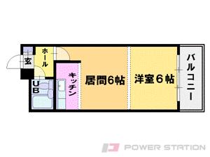 札幌市中央区北4条西13丁目0賃貸マンション間取図面