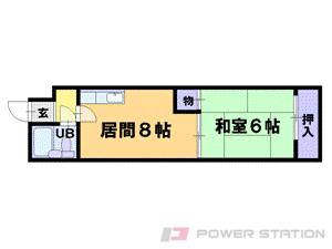 札幌市中央区北5条西10丁目0分譲リースマンション間取図面