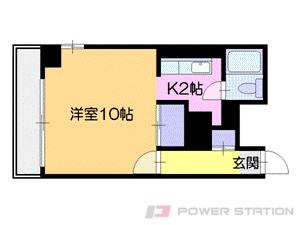札幌市中央区北4条西11丁目0賃貸マンション間取図面