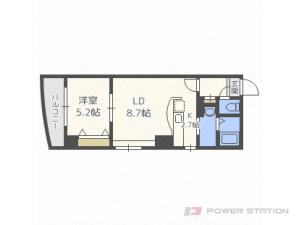 札幌市中央区北3条東2丁目0賃貸マンション間取図面