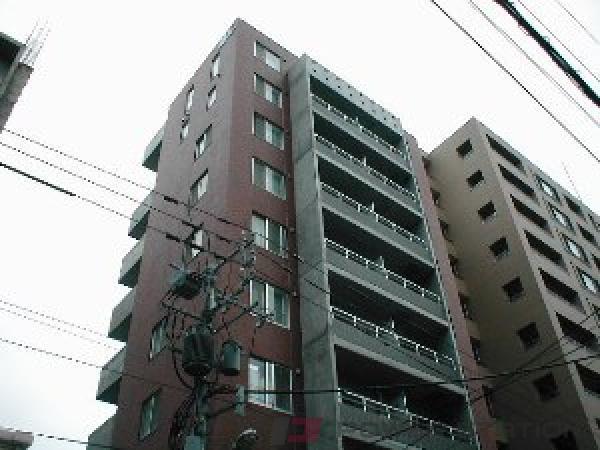 札幌1Kマンション外観