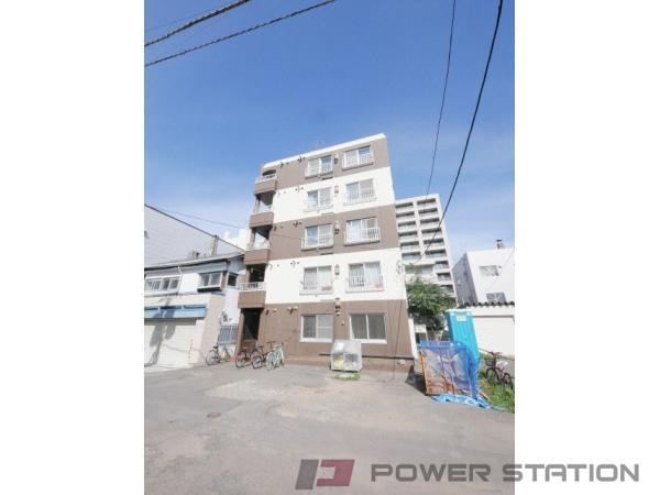 札幌市中央区大通東4丁目1賃貸マンション外観写真