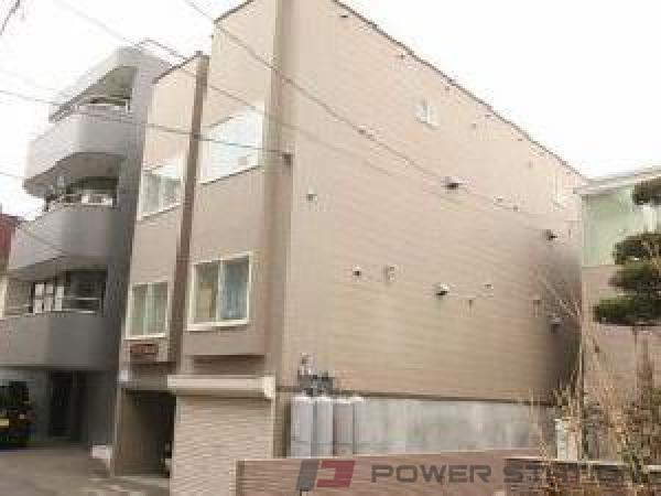 札幌市中央区北2条東7丁目0賃貸アパート外観写真